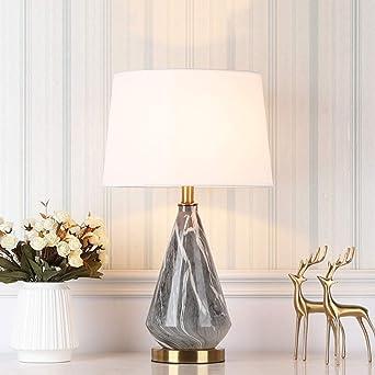 Escritorio de cerámica Luz, creativa nórdica Lámpara de mesa de ...