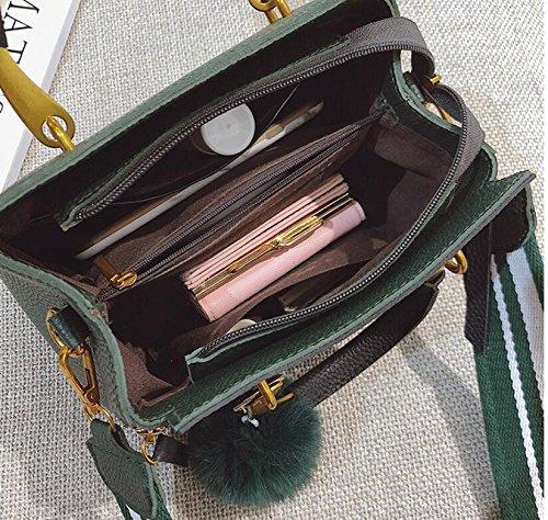 De Noir Green Petit Portable Sac Meaeo Lychee Nouveau Carré Carré Sac qzqSxwRtAv