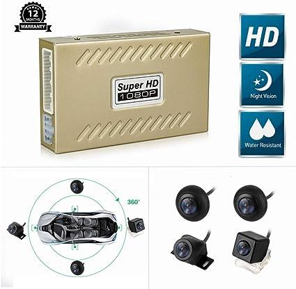 All Round View System Around Park Car Security Recording 360 Degree Bird Camera