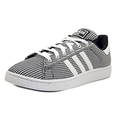 best website 7efb4 1d109 Amazon.com   adidas Originals Men s Campus mesh Fashion Sneaker White Black,  11.5 M US   Fashion Sneakers