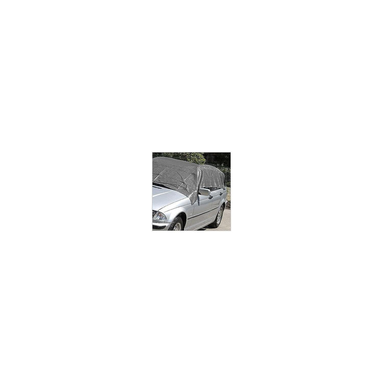 KRT660304 Gewebeplane Abdeckplane Schutzplane Unterlegplane 5 x 8 Meter Alu /Ösen 180g//m2 Farbe Grau
