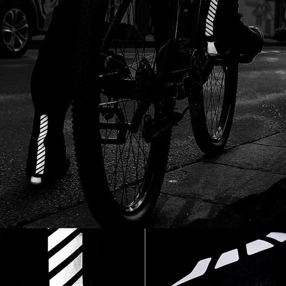 Couvre-Chaussures de Cyclisme Hiver Chaud Couvre-Chaussures imperm/éables Couvre-Chaussures pour VTT Route avec Bandes r/éfl/échissantes 42-46 housesweet Couvre-Chaussures de v/élo Couvre-Chaussures