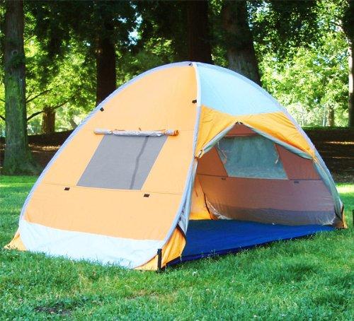 Amazon.com Pop up Family Cabana Tent Sun Wind Shelter Beach Tent Sports u0026 Outdoors & Amazon.com: Pop up Family Cabana Tent Sun Wind Shelter Beach Tent ...