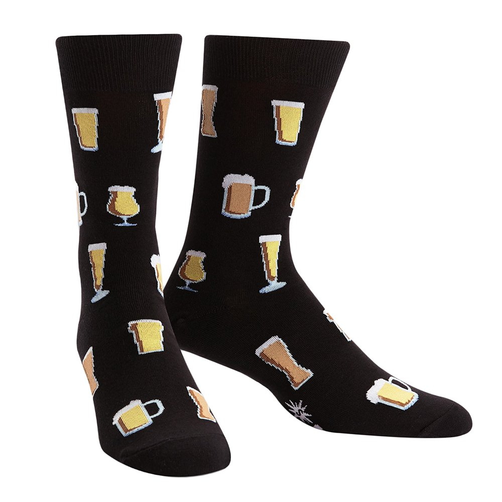 Sock It To Me Cheers! Men's Crew Socks MEF0239