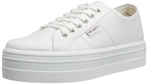 Victoria Blucher Lona, Women's Boots, White, 3 UK (35 EU)