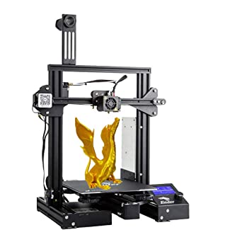 Creality3D Ender 3 Pro 3D printer with magnetic hot bed by ...