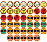 chai tea latte maker - Two Rivers Assorted Tea Single-Cup Sampler Pack for Keurig K-Cup Brewers, 40 Count