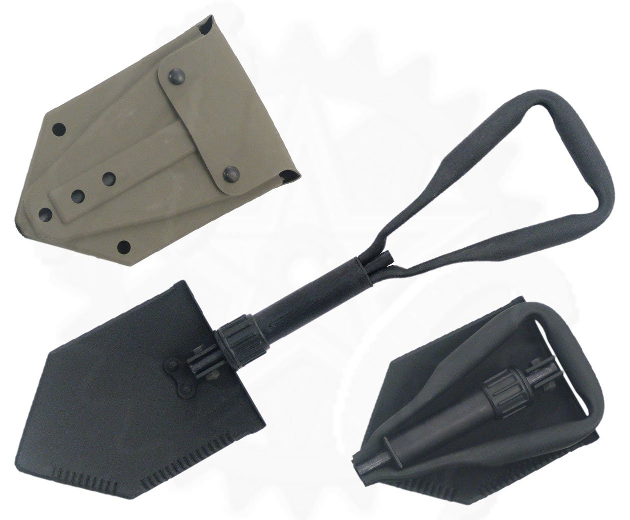 Military Issue Entrenching Tool with Tri-Fold