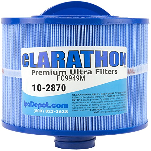 Replacement Filter for 2013+ Bullfrog Spa - 10-2870 Antimicrobial with Longer Threaded Fitting