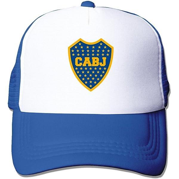 Sudadera con Capucha Bicolor Marina y Amarillo con Logotipo Unisex Boca Juniors