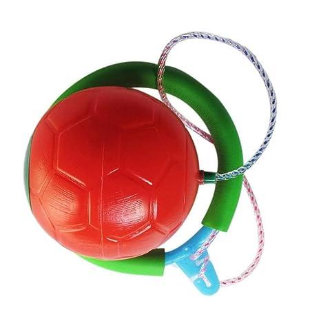 Homyl balón Saltador pie Cuerda de Saltar Skip Ball pies Juego de ...