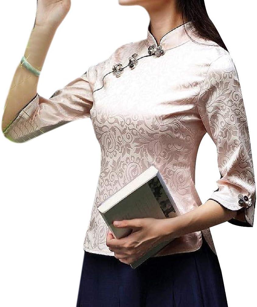Winwinus Womens Long Sleeve Asymetric Hem Mid Length Stripe Baggy Outwear