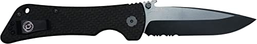 Southern Grind Bad Monkey Folding Knife w Emerson Drop Point Blade.