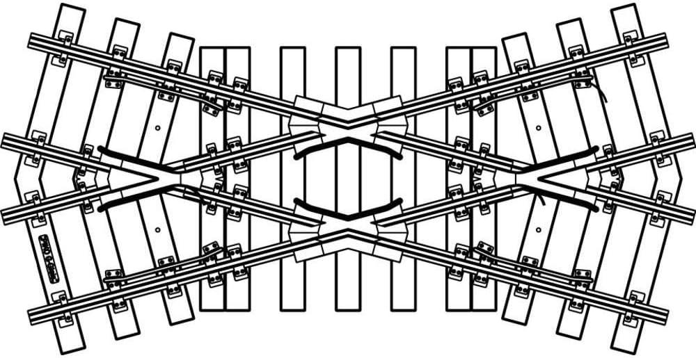 / Piko 35240/G//Track Crossing K30/