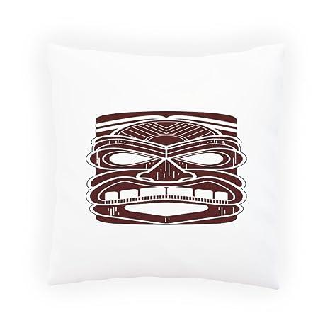 Arte Máscara Tiki Hawaii Arte Almohada decorativa, Funda de ...