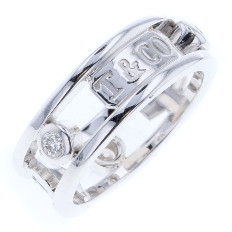 (ティファニー) TIFFANY&Co. 1837 エレメント 3P リング指輪 K18ホワイトゴールド/ダイヤモンド ダイヤモンド レディース 中古 B07F9MCSFJ