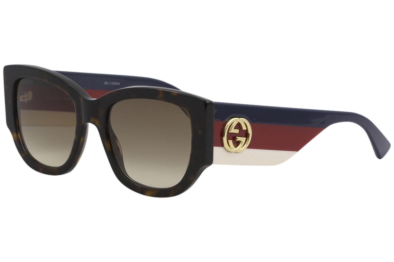 699a728bb26 Authentic Gucci Sunglasses GG0276S 002 53mm Havana-Tri Color   Brown ...