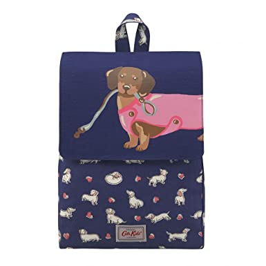 139de51caa97 CATH KIDSTON Navy Dog Kids Medium Backpack: Amazon.co.uk: Clothing