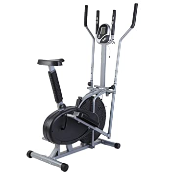 278ef4351e54 Best Choice Products Elliptical Bike 2 IN 1 Cross Trainer Exercise Fitness  Machine Upgraded Model: Amazon.co.uk: Sports & Outdoors