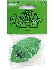 Dunlop Standard Tortex Picks, 12 Pack, Green, .88mm