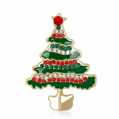 Amazon.com: reizteko broche de la Navidad coronas de Navidad ...