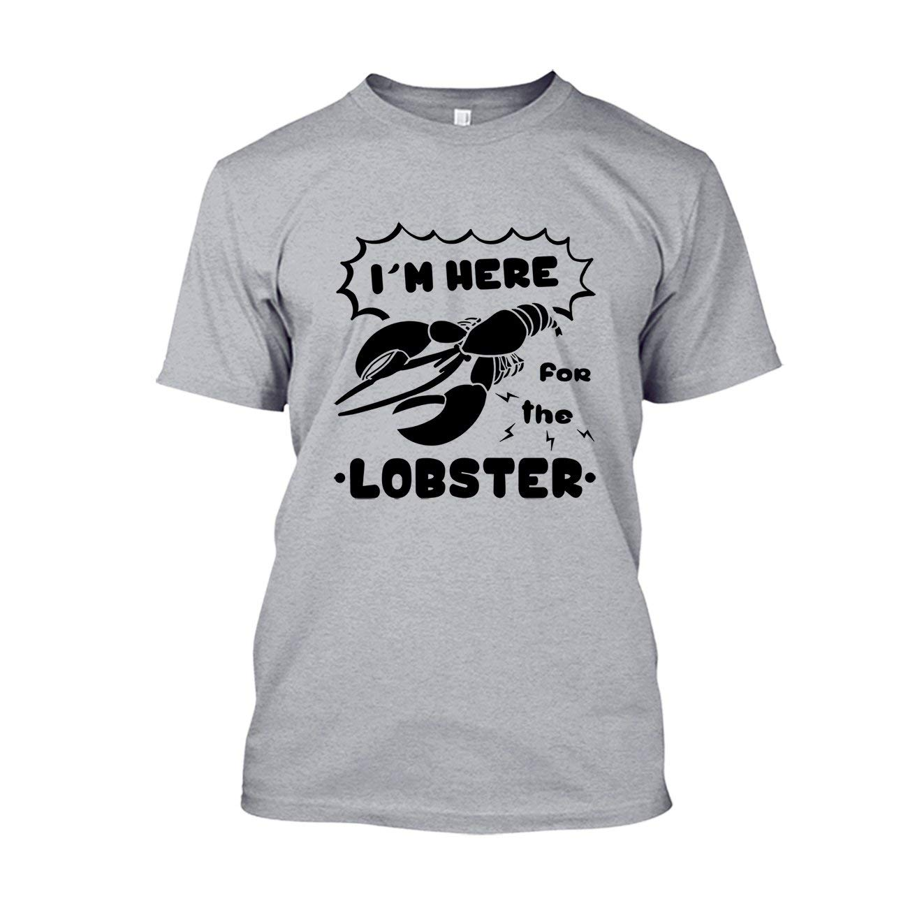 02cadfbbf Amazon.com: Are Blue I'm Here for The Lobster Shirt, Long Sleeve Shirt:  Clothing