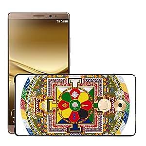 Print Motif Coque de protection Case Cover // V00001717 mandala tibetano // Huawei Ascend Mate 8