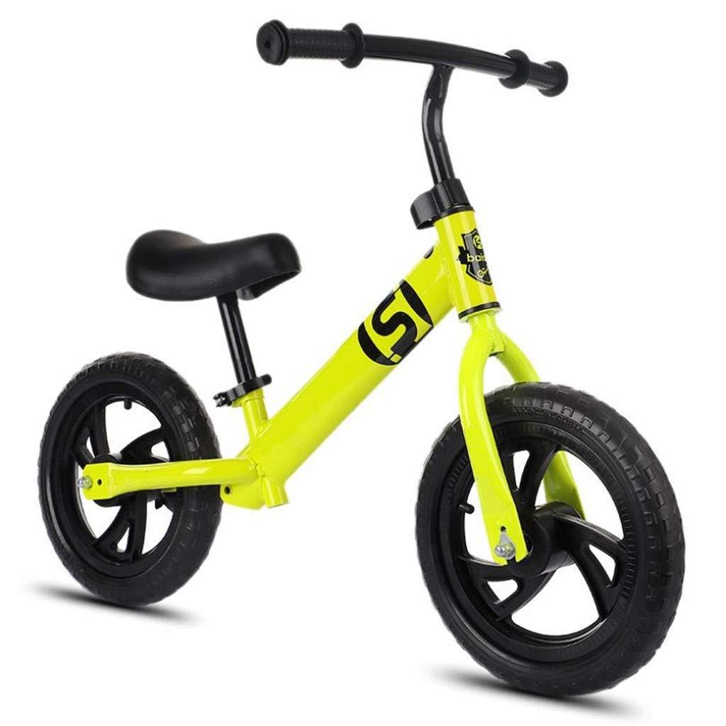 12インチ バランスバイク キッズ 26歳 ペダルなし 歩く 自転車を学ぶ 調節可能なシートハンドルバー 男の子用 女の子たち (色 : E)  E B07QQT1HKW