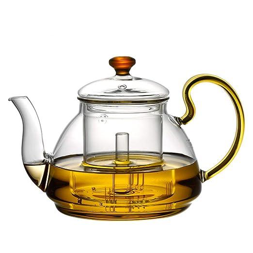 M-CH Tetera Teteras de Vidrio con infusor, Juego de té Kung ...