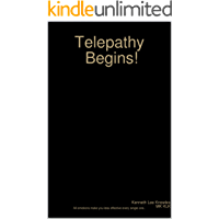 Telepathy Begins! (Telepathic warfare Book 1)