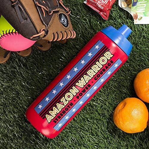 BPA Free Reusable Water Bottle Wonder Woman WWNS-S910 Zak Designs DC Comics 24 oz