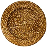 Chargeit by Jay Natural Rattan Charger