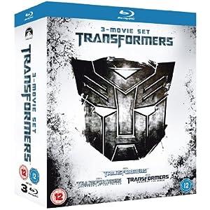 [Amazon UK] Transformers 1 3 Box Set [Blu ray] für nur 36€ (Vergleich: 65€)