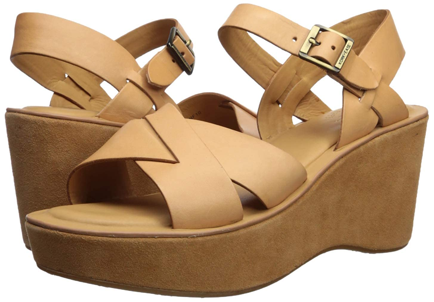 b439503fa9 Amazon.com | Kork-Ease Women's Ava | Platforms & Wedges