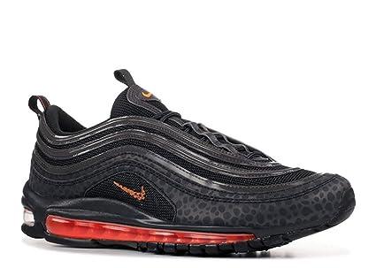 meilleur service 078ed 3495f Amazon.com : Nike Men's Air Max 97 Off Noir Orange Grey ...