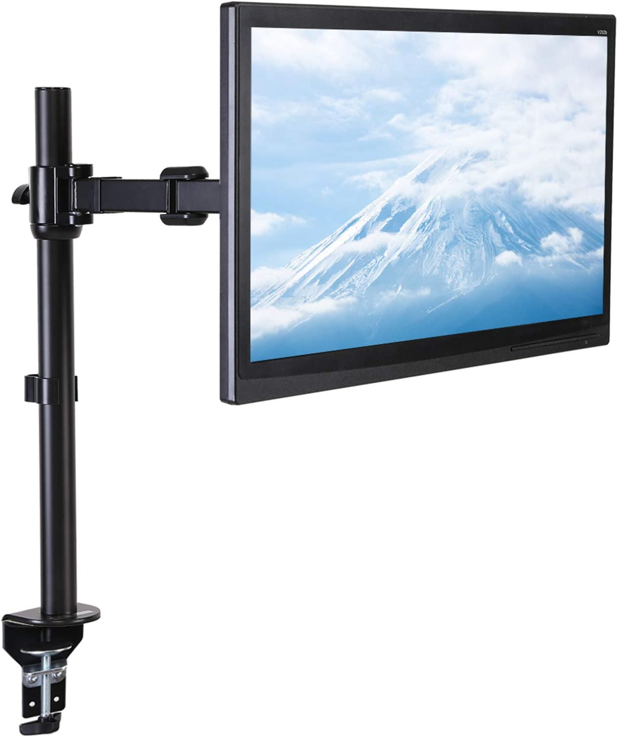 FLEXISPOT Monitor Mount fits 17 inch to 36 inch Ultra Wide LCD Screens with Quick Release Fast Insert Bracket, Holds up to 26.4 lbs (for 1 SCEEN)