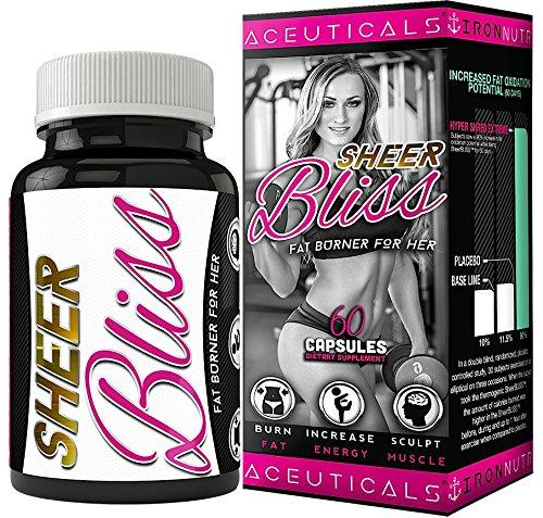 Bliss Pure force clinique Fat Burning poids perte supplément pour femmes Boost énergétique • rasoir Focus • humeur et bien-être • Boost Focus • brûlures ventre gras • Made in USA s'élève