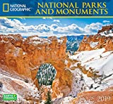 National Geographic National Parks & Monuments 2019 Wall Calendar