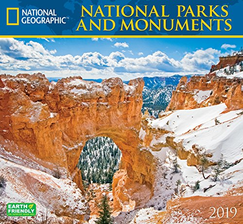 National Geographic National Parks & Monuments 2019 Wall ()