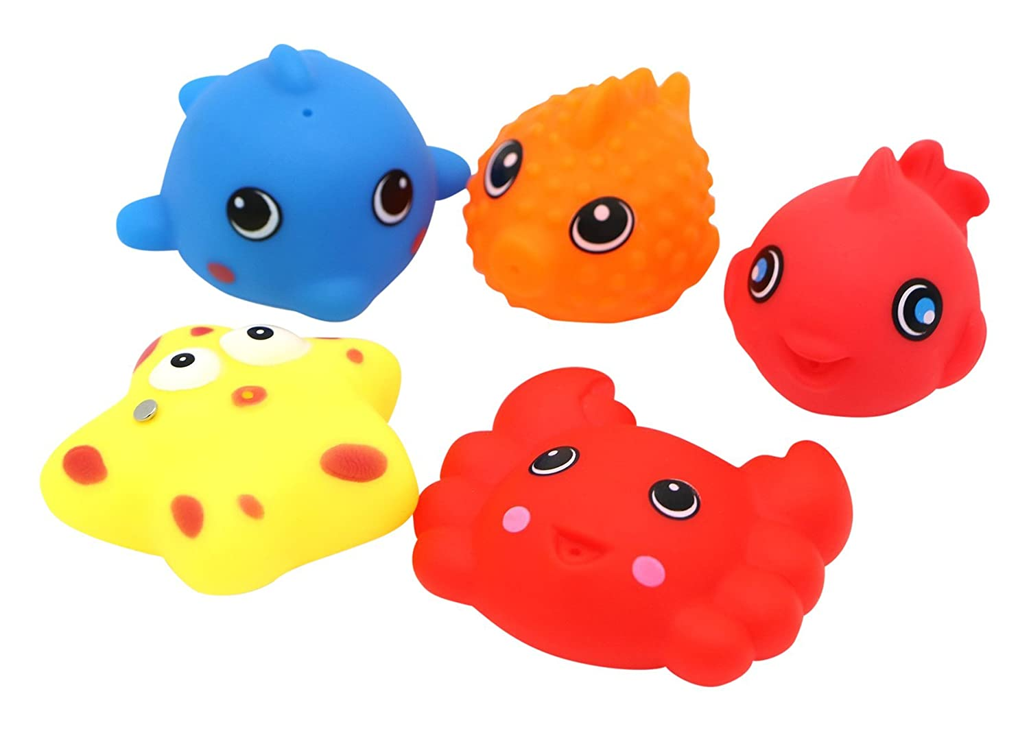 Little Treasures Bath Toys for Toddlers Non Toxic Fun Bathtub Toy