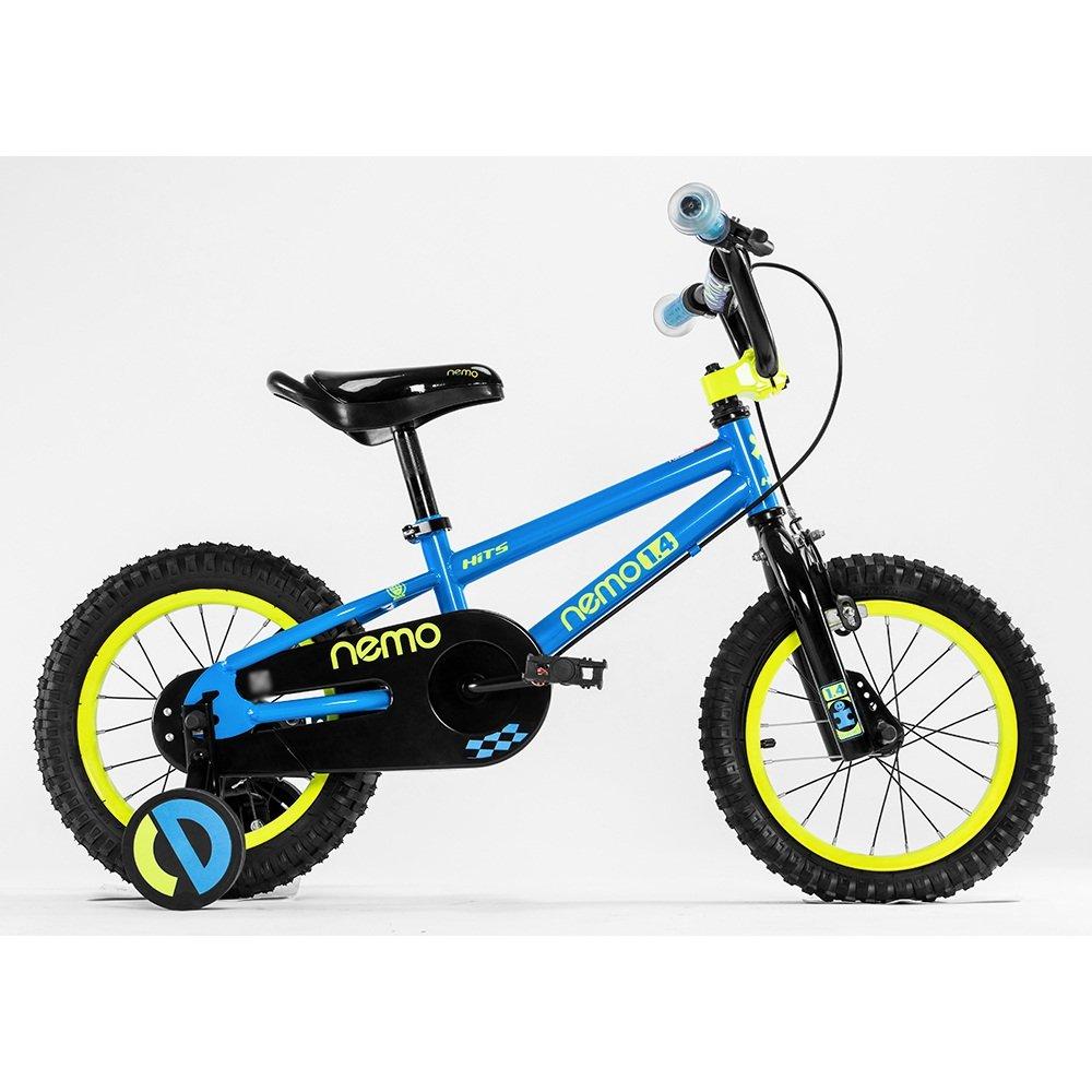 HAIZHEN マウンテンバイク 子供用自転車 トレーニングホイール付きの少年の自転車と少女の自転車 12インチ、14インチ、16インチ、18インチ アウトドアアウト 新生児 B07CG2XZL8青 18 inch