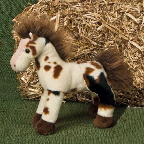 Mary Meyer Stuffed Animal Soft Toy, Patches Spotted Horse, 7-Inches