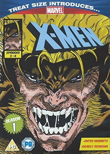 X-Men Season 1 Episodes 3 Enter Magneto and 4 Deadly Reunions Marvel (Series 1 Magneto)