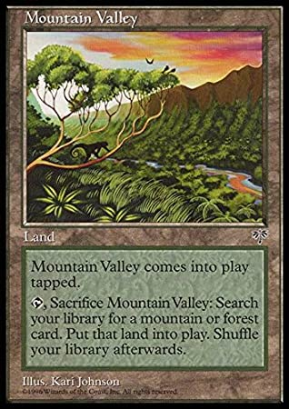 Mirage Magic the Gathering MTG Details about  /Bad River