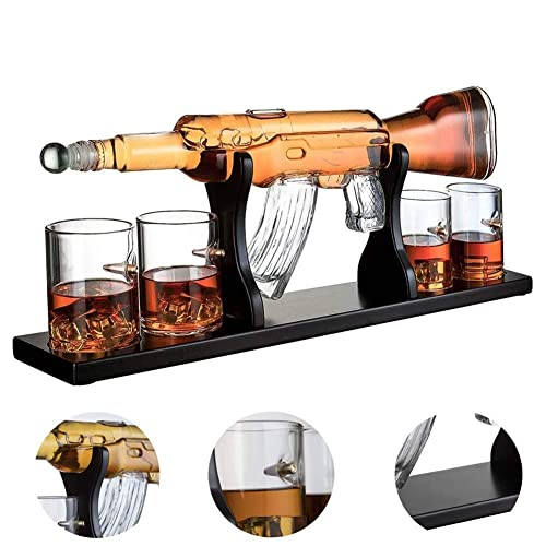 AK47 Whisky Decanter Set