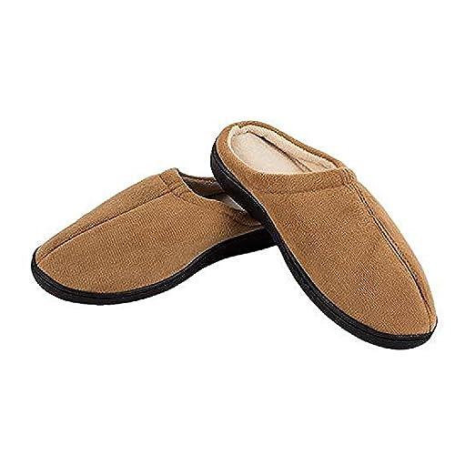 El Gel Miracle Slippers Color Marrón - Zapatillas de Gel antifatiga. Producto Original con Real Gel. como Visto en TV.: Amazon.es: Zapatos y complementos