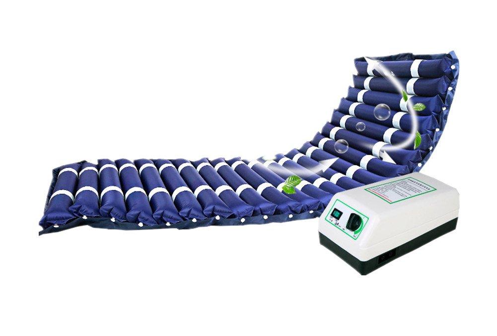 Anti-Wundliegen Luftmatratze Blau Alten Luftmatratze Bedsore Mit Aufblasbares Bett Zuhause Gelähmt Pflege Mit Bedsore Luftpumpe 82  188 Cm 9386b2