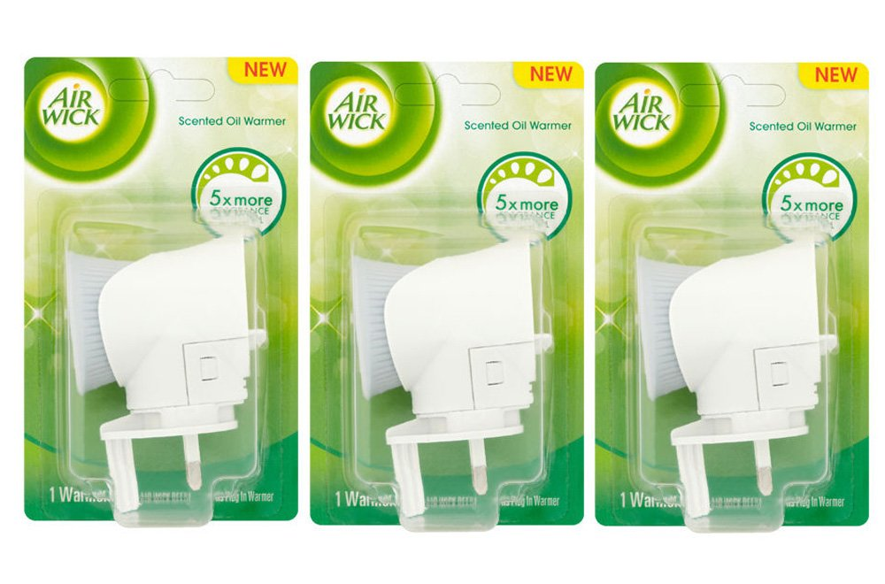 3 x Airwick Plugs - Plug In Machines (No refills) AIR WICK
