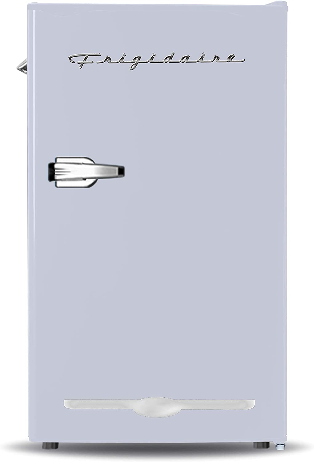 Frigidaire EFR376-MOONBM Retro Bar Fridge Refrigerator with Side Bottle Opener, 3.2 cu. Ft, Moonbeam