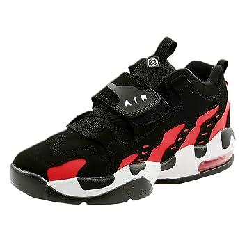 LuckyGirls Zapatos para Mujer Zapatillas de Correr Calzado Deportivo de Running Cojín de Aire Color de Mezcla Zapatillas Baloncesto Bambas: Amazon.es: ...
